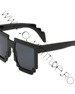 Ochelari de Soare Unisex rama Tetris Deal with it Black