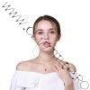 Lantisor I love you / Te iubesc proiectie 100 limbi Auriu